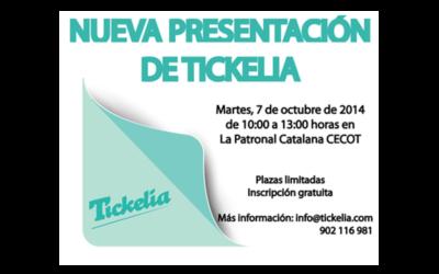 Nueva Presentación de Tickelia en la CECOT