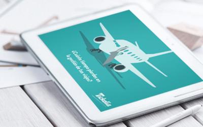 """""""Utilizar una plataforma digital de gestión de gastos de viaje es una ventaja competitiva frente a otras compañías"""", O. Llonch (Tickelia)"""