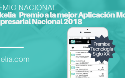 Tickelia es premiada con el Premio a la mejor Aplicación Móvil Empresarial Nacional