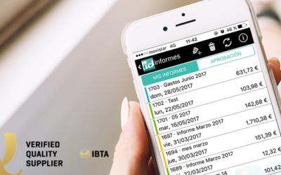 Tickelia aparece en la selección Verified Quality Supplier 2018 de IBTA