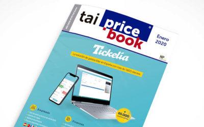 Tickelia portada de la revista informática Tai-Pricebook