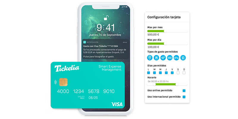 Tickelia presenta sus tarjetas Visa Tickelia que fusionan la gestión de gastos con los métodos de pago inteligente