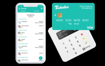 Tickelia se alía con Visa para simplificar la gestión de gastos corporativos