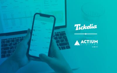 Tickelia y SAP Business One, distribuido por ACTIUM Digital by SEMIC, la integración contable que reinventa la gestión financiera de los gastos de tu negocio